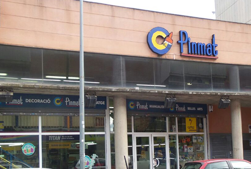 Tienda Pinmat Granollers
