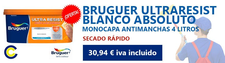 Bruguer blanco absoluto 4L Pinmat
