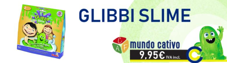 Glibbi Slime - Mundo Cativo by Pinmat