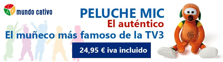 Peluche Mic TV3